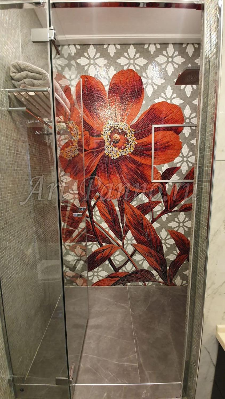 Колотое панно - Цветы Flo4С