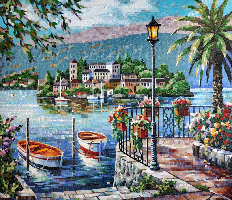 Колотое панно - Средиземноморье
