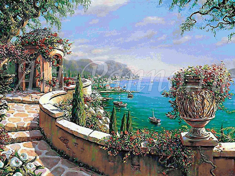 Мозаичное панно Средиземноморье 3003