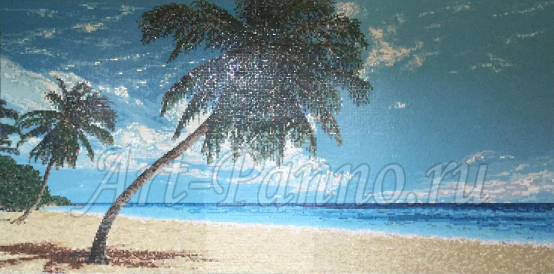 """Мозаичное панно """"Пальмы"""""""