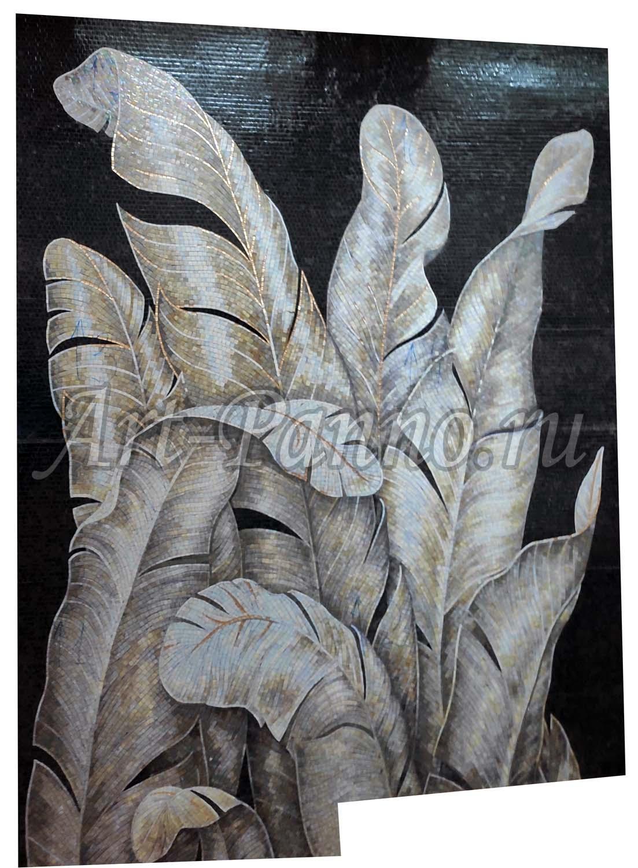 Колотое панно - Листья банана