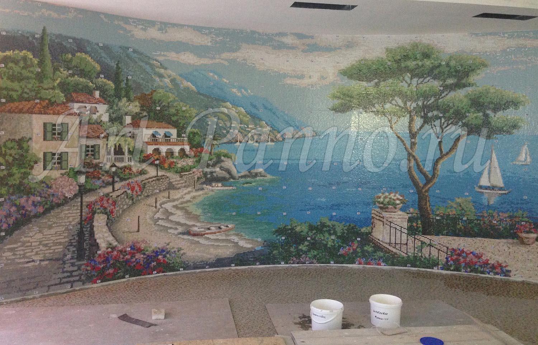 Мозаичное панно Средиземноморье 3001-1