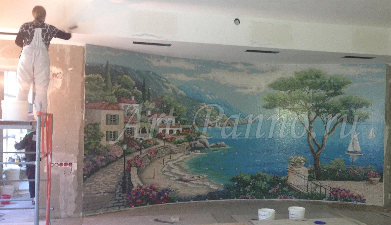 Мозаичное панно Средиземноморье 3001-2