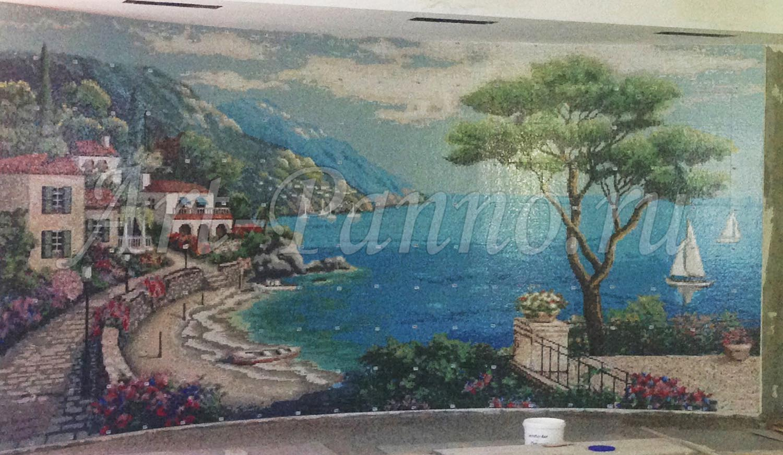 Мозаичное панно Средиземноморье 3001-3
