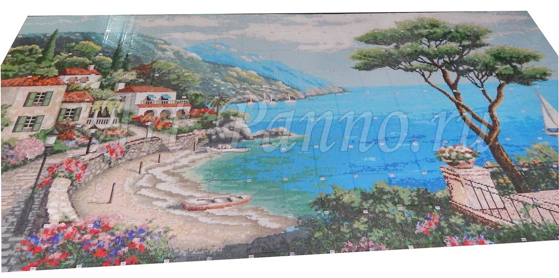 Мозаичное панно Средиземноморье 3001-4