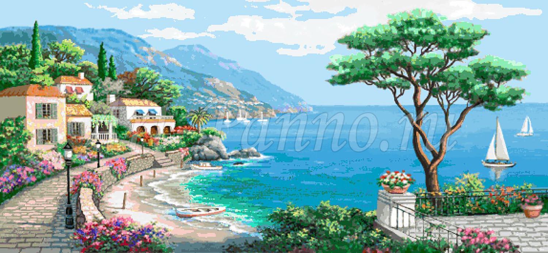 Мозаичное панно Средиземноморье 3001-5