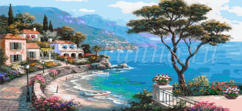 Мозаичное панно Средиземноморье 3001-6