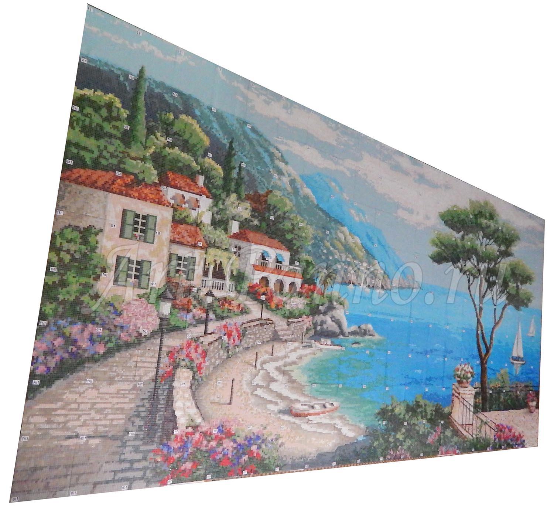 Мозаичное панно Средиземноморье 3001-8