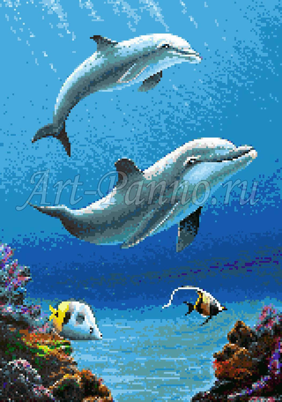 Мозаичное панно подводный мир 2004