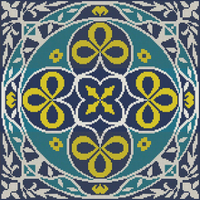 Ковры из мозаики