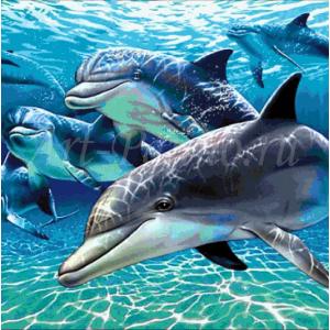 Мозаичное панно подводный мир 2016