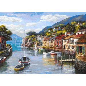 Мозаичное панно Средиземноморье 3002