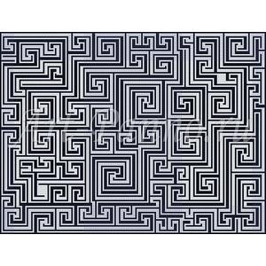 Ковер из мозаики 7001
