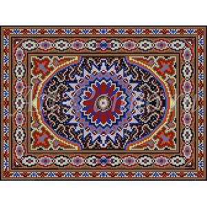Ковер из мозаики 7002