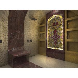 Ковер из мозаики 7008