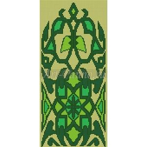 Ковер из мозаики 7009