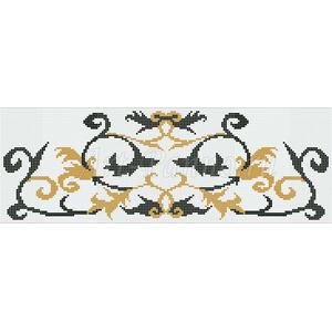 Ковер из мозаики 7014